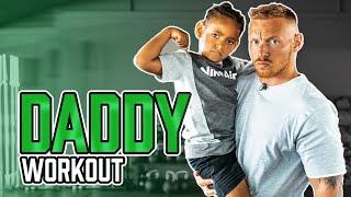 DADDY WORKOUT | 30 Minuten Kinder Training zum LIVE Mitmachen (Ganzkörper)