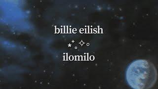 Billie Eilish - ilomilo (visual lyric video)
