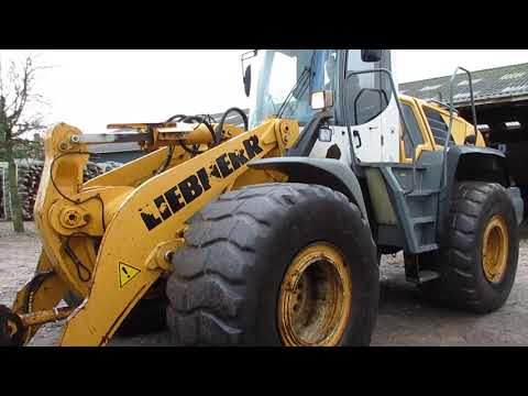 Video: Liebherr 556 Læsse maskine  1