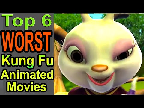 Top 6 Worst Kung Fu Animated Movies