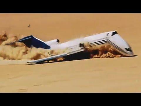 Pilot Deliberately Crashes Plane In The Desert