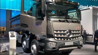 Mercedes-Benz Arocs 4143 K 8x4 2016 In Detail Review Walkaround Interior Exterior