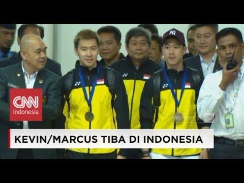 'The Minions' Kevin-Marcus Tiba di Indonesia; Juara All England 2018