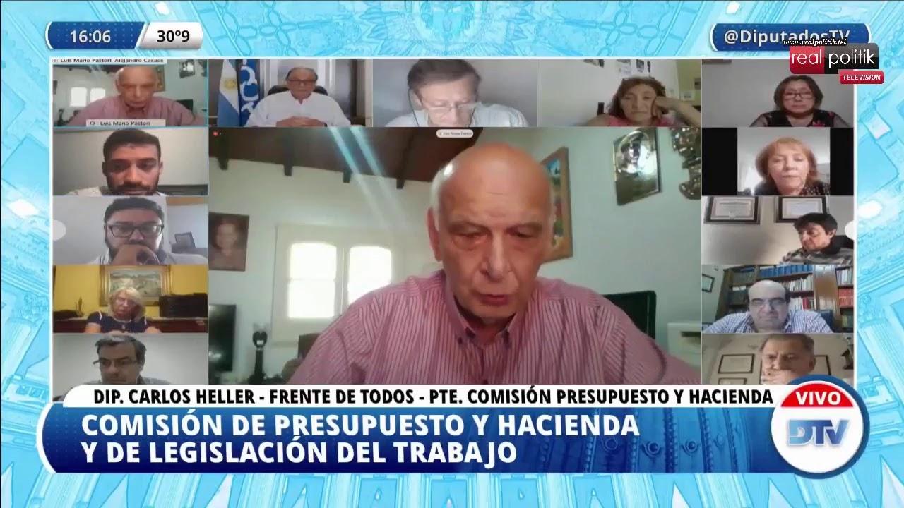 Teletrabajo en Diputados: Tributaristas informan sobe los alcances del proyecto de Ganancias