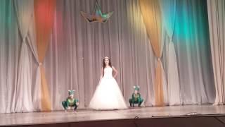 """Выход конкурсанток  """"Мисс Золотая осень"""" в костюмах кинопесонажей, в рамках Года Кино!"""