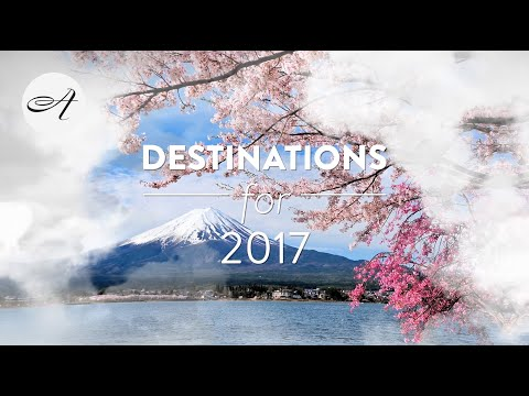 Destinations for 2017