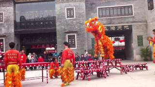 Video : China : Lion dance - FoShan 佛山