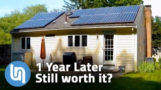Solar Panels For Home   1 Year Later