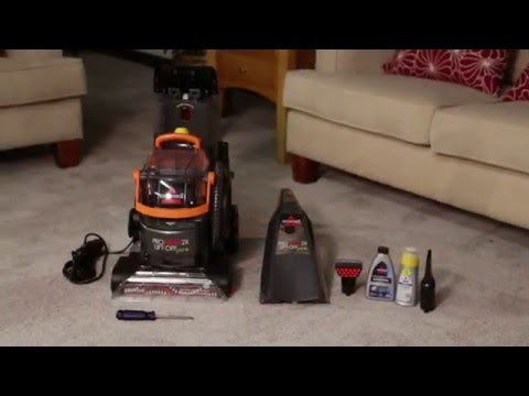 ProHeat 2X® Lift-Off® Upright Carpet Cleaner - Assembly