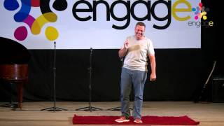 Morne Deetlefs. The One Thing @Engage 12