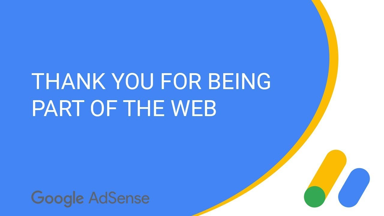 Thank you for being part of the web