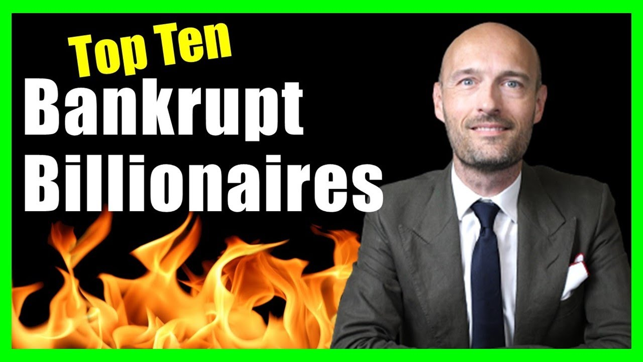 Billionaires Who Lost Whatever