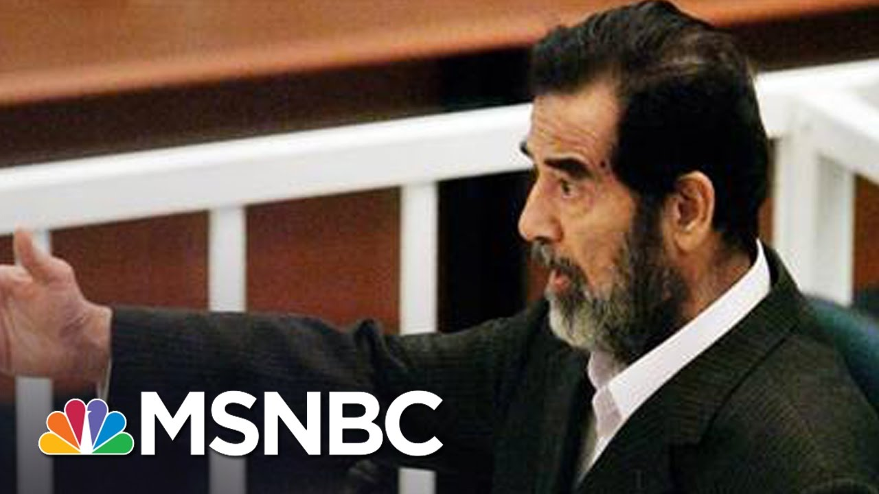 Inside The Interrogation Of Saddam Hussein: 10 Years After Execution | Andrea Mitchell | MSNBC thumbnail