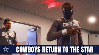 Rookies, Selected Veterans Returned To The Star | Dallas Cowboys 2020