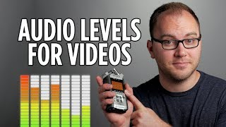 Audio Levels For Video Recording And Editing - Video 101 Episode 1
