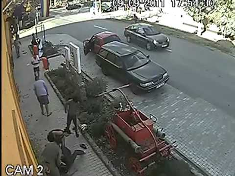 amazing bike accident