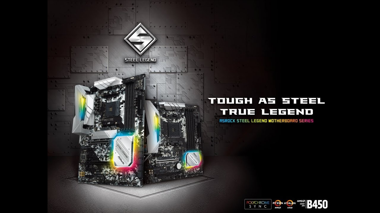 ASRock > B450 Steel Legend