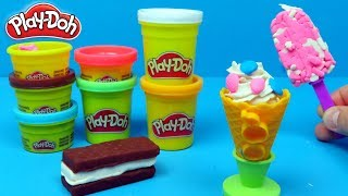 Play Doh IJsjes maken | Family Toys Collector