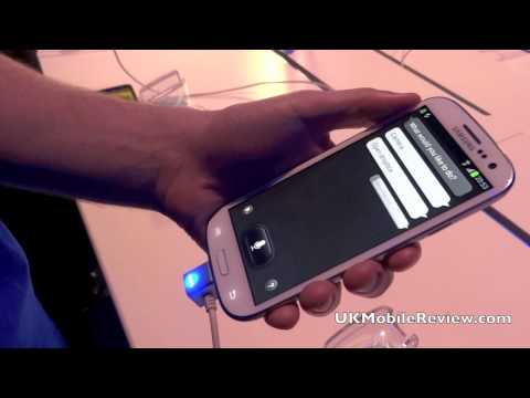 Galaxy SIII S-Voice Demo
