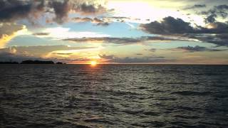 preview picture of video 'Sunset at Sipitang, Sabah Borneo, Malaysia II'