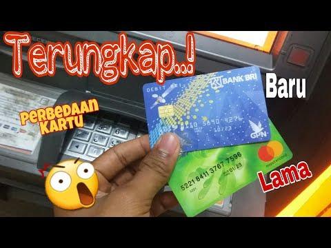 Kartu ATM BRI lama vs Baru...