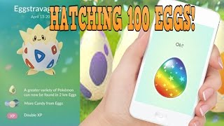 Download Youtube: Hatching 100 2 KM MYSTERY EASTER EGGS in POKEMON GO (PART 1 OF 3)