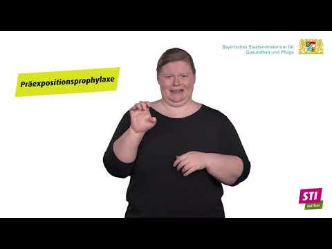Einige Beispiele für sexuell übertragbare Infektionen – in Deutscher Gebärdensprache