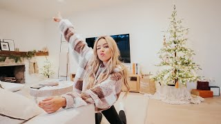 cleaning my house, making my own candles! vlogmas day 23!