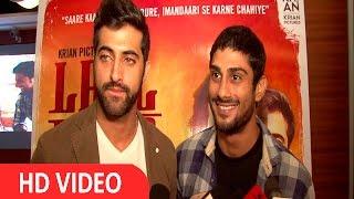 Akshay Oberoi & Prateik Babbar At Special Screening Of Film Laal Rang