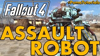 Fallout 4: Best and Ultimate Ranged/Assault Robot or Automatron Companion Build #PumaTutorials