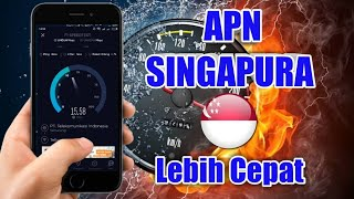 Tutorial Cara Setting APN Internet ke Server Singapura