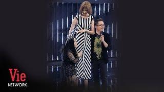 Việt Hương bị dìm hàng khi đứng cạnh người mẫu cao 1m9 | BTS Ca Sĩ Bí Ẩn mùa 3 [Full HD]