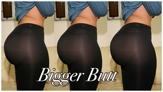 HOW TO GET A BIGGER BUTT | 5 QUICK WORKOUTS