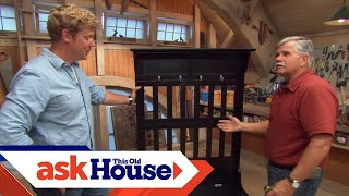 How To Build A Storage Bench | Ask This Old House