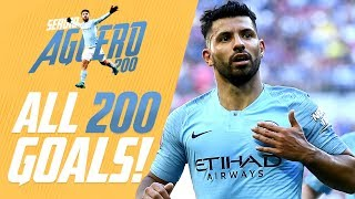 Sergio Agüero | All 200 Man City Goals