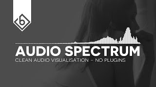How To Create A Clean Audio Spectrum - Adobe After Effects Tutorial