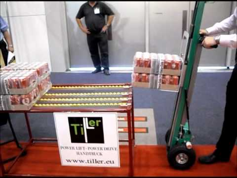 Tiller Power Drive / Power Lift Handtruck