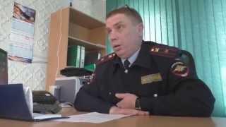 В гостях у начальника ГАИ г. Ершова Салеева