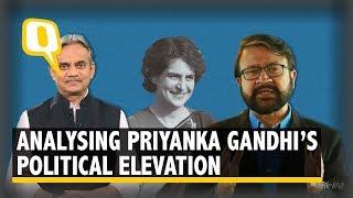 The Quint Analyses PriyankaGandhi's Elevation into Active Politics
