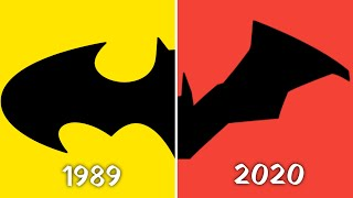 How The Batman Movie Logo Has Evolved From Keaton To Robert Pattinson New Batman Logo Over The Years