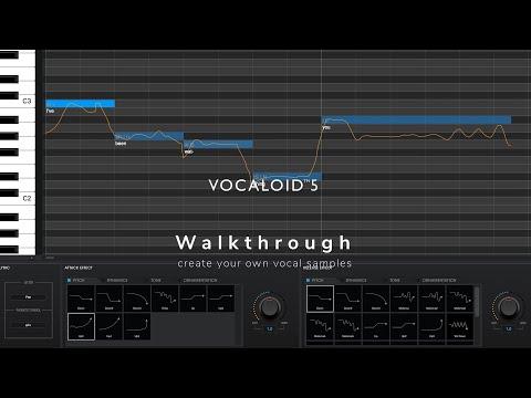 ה-Vocaloid 5 של Yamaha - זמרים זמינים להקלטות שלך