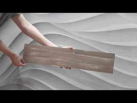 Distressed Wood Peel & Stick Wall Panels - Martini 1sqm