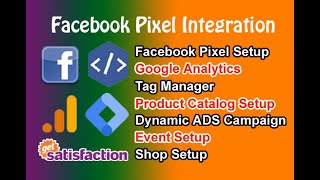 I will setup facebook pixel catalog dynamic ads campaign, google tag manager, analytics