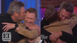 Blake Shelton Surprises Craig Morgan On 'The Kelly Clarkson Show'