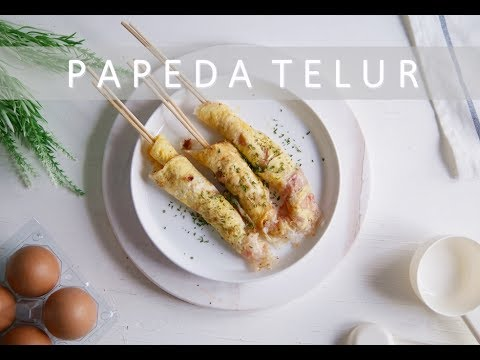 Resep: Pepeda Telur / Cilung | Indonesian Street Food Snack Recipe