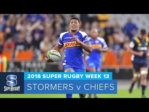 HIGHLIGHTS: 2018 Super Rugby Week 13: Stormers v Chiefs