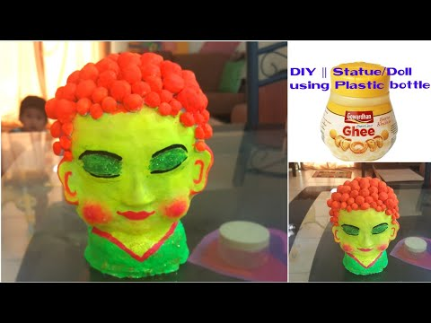 How to make Statue or Doll using Waste Materials