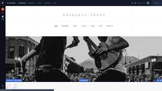 Tour Of Bandzoogle: Website Builder For Musicians & Bands