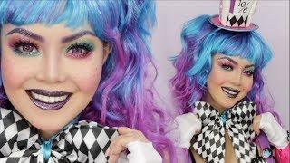 Mad Hatter Halloween Makeup Tutorial | AnnaMariaPDT | 2017
