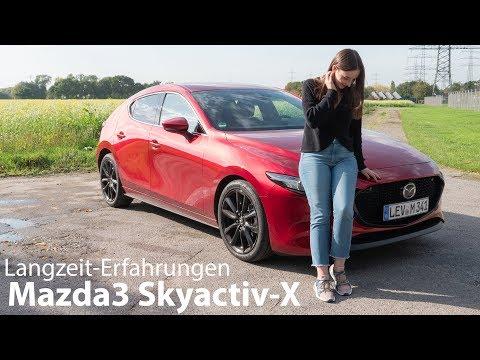2019 Mazda3 Skyactiv-X Test / Unsere Langzeit-Erfahrungen mit dem Wunder-Benziner - Autophorie